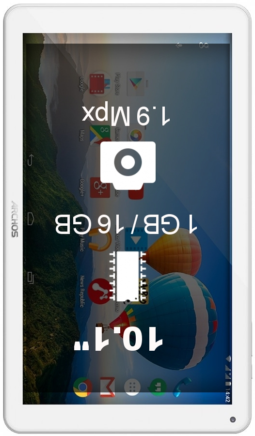 Archos 101b Xenon tablet