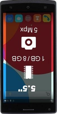Amigoo MG100 smartphone