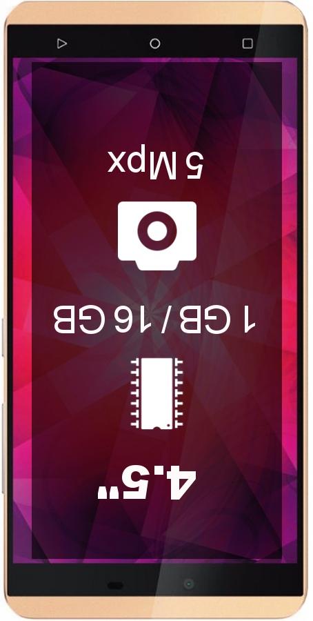 Gionee Pioneer P3S smartphone