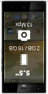 ZTE Warp Elite smartphone
