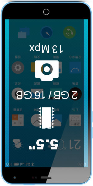 MEIZU M1 Note 16GB smartphone