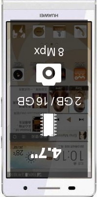 Huawei Ascend P6 S smartphone