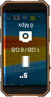 DEXP Ixion P350 Tundra smartphone
