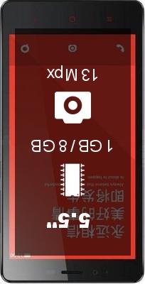 Xiaomi Redmi Note 1GB 8GB 64Bits smartphone