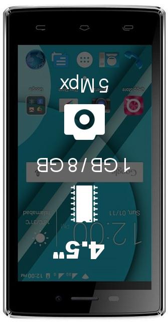 QMobile Noir W50 smartphone