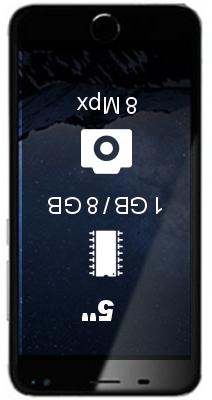 Symphony i50 smartphone
