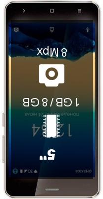 Ginzzu S5001 smartphone