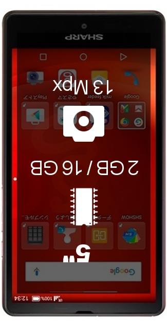 Sharp Aquos SH-M02 smartphone