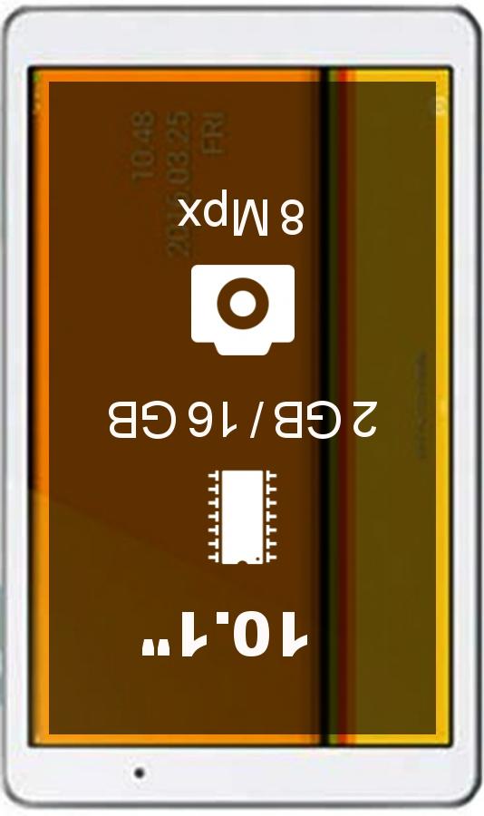 Huawei Qua tab 02 tablet