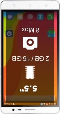 Bluboo X550 smartphone