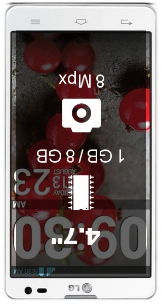 LG Optimus L9 II smartphone