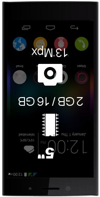 QMobile Noir X950 smartphone