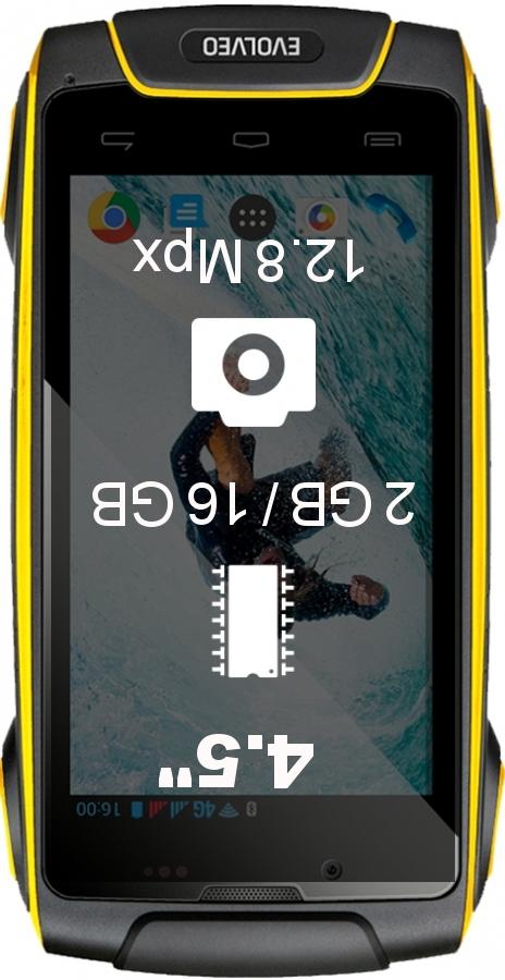 Evolveo StrongPhone Q8 LTE smartphone