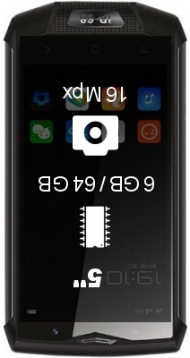 Blackview BV8000 Pro smartphone