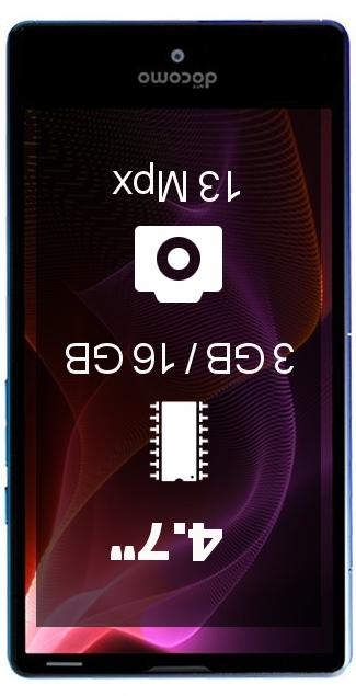 Sharp Aquos Compact SH-02H smartphone