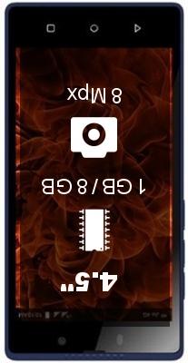 Lyf F8 smartphone