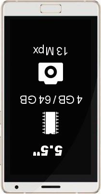 Zuk Edge 4GB 64GB smartphone