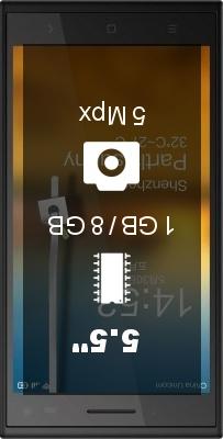 Elephone P2000c smartphone