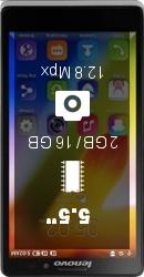 Lenovo K910 Vibe Z LTE smartphone