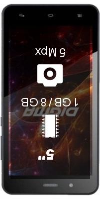 Digma Vox S504 3G smartphone