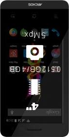 Archos 40d Titanium smartphone