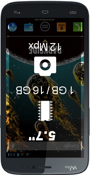 Wiko Darkside smartphone