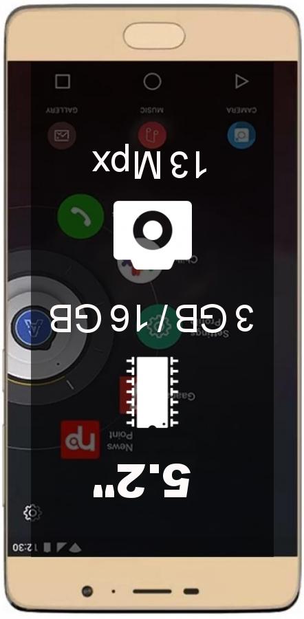 Panasonic Eluga A3 smartphone