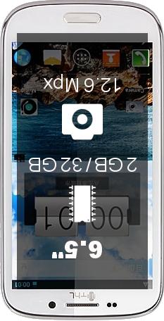 THL W300 smartphone