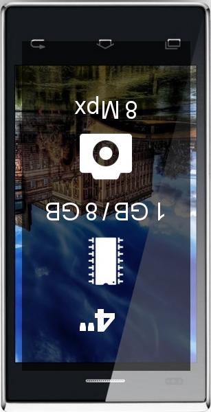VKWORLD T2 1GB 8GB smartphone