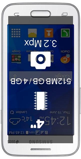Samsung Galaxy V Plus SM-G318 smartphone