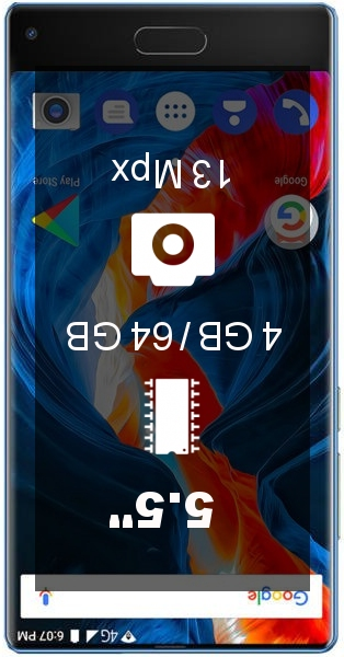 Ulefone Mix 4GB 64GB smartphone
