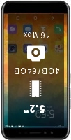 Gome K1 4GB 128GB smartphone price comparison