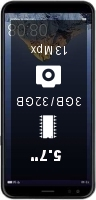 InFocus M7s smartphone price comparison