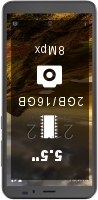 NUU Mobile A5L+ Plus smartphone