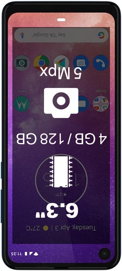 Motorola One Vision BR 4GB 128GB smartphone