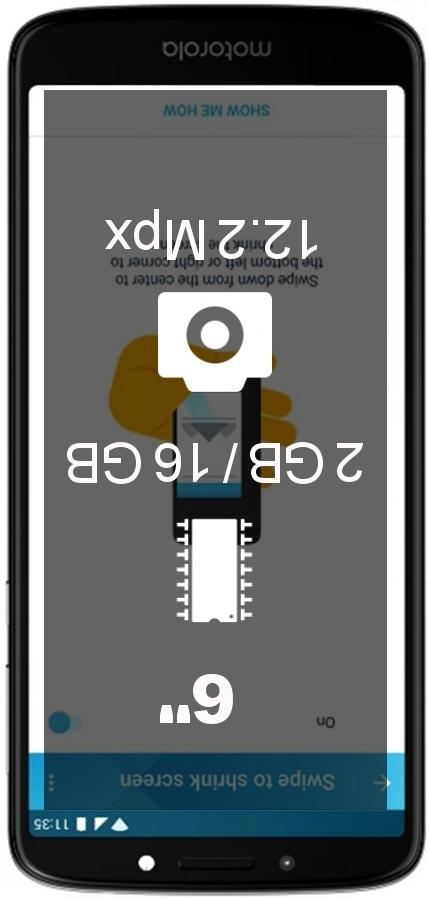 Motorola Moto E5 Plus 2GB 16GB LATAM smartphone