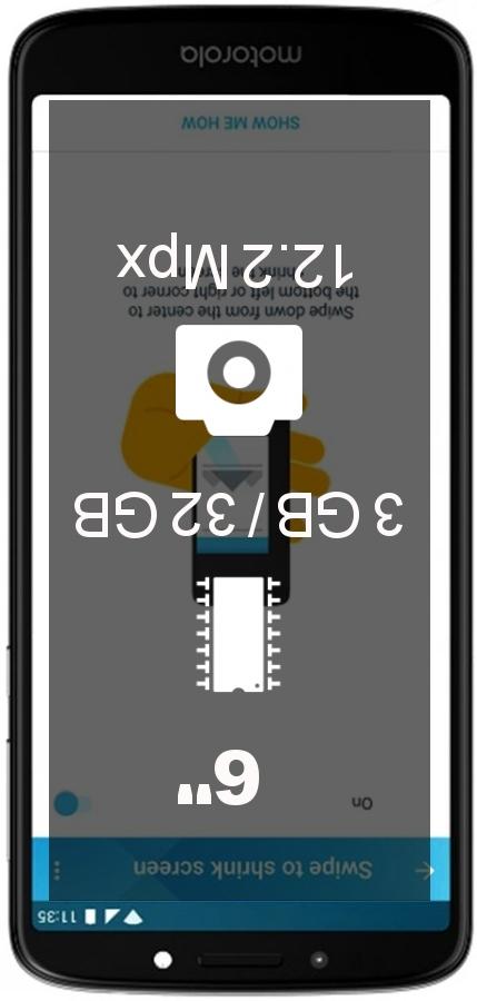 Motorola Moto E5 Plus 3GB 32GB LATAM smartphone