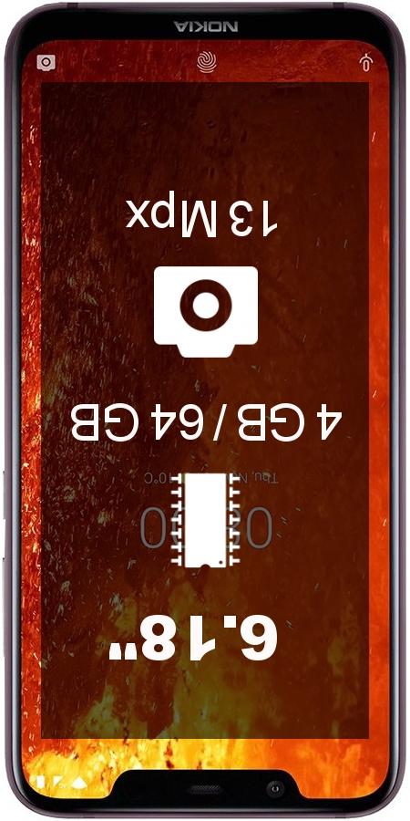 Nokia 8.1 TA-1119 smartphone