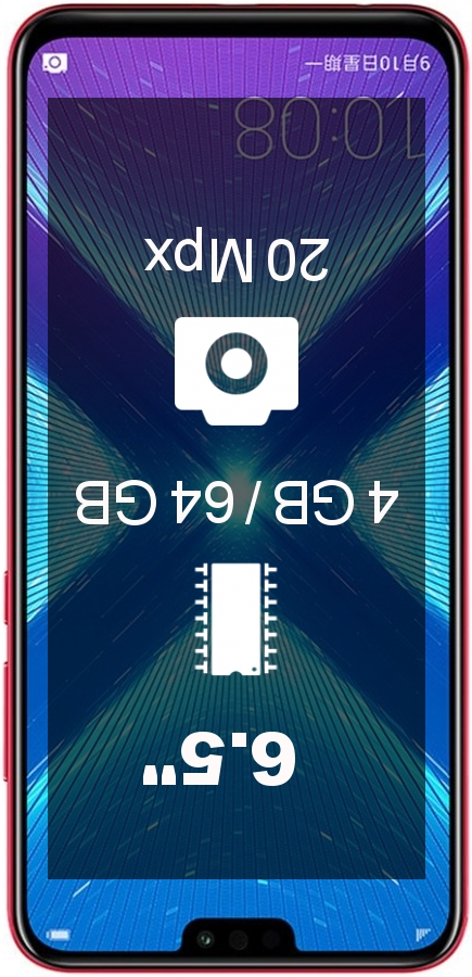 Huawei Honor 8x 4GB 64GB L29 smartphone