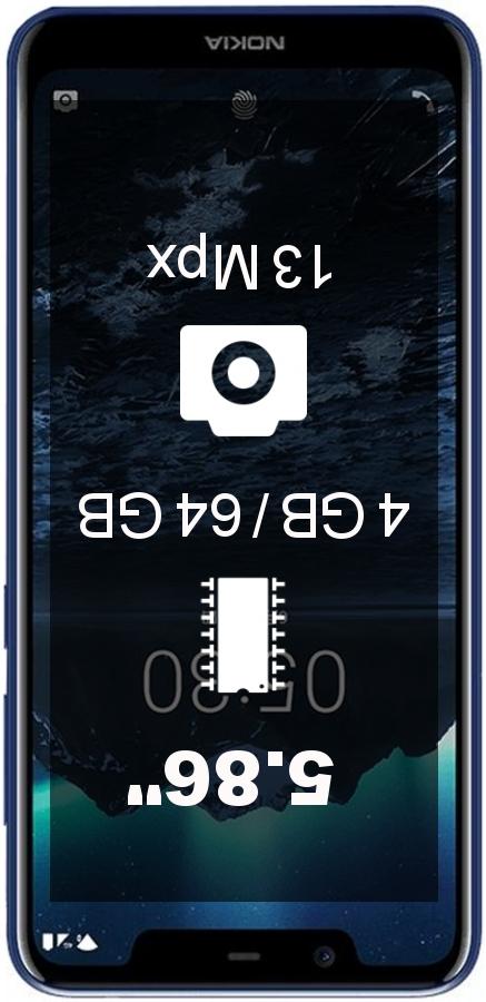 Nokia X5 4GB 64GB smartphone