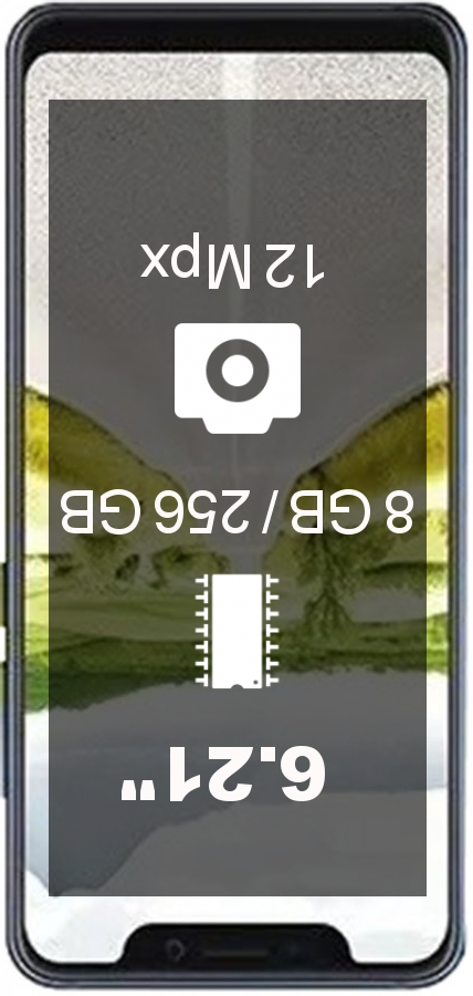ZTE Axon 9 Pro 8GB 256GB smartphone