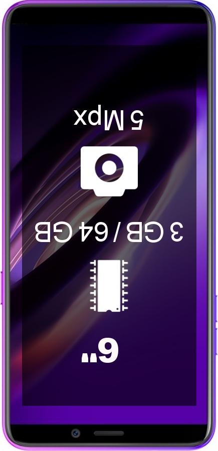 Ulefone P6000 Plus 3GB 64GB smartphone