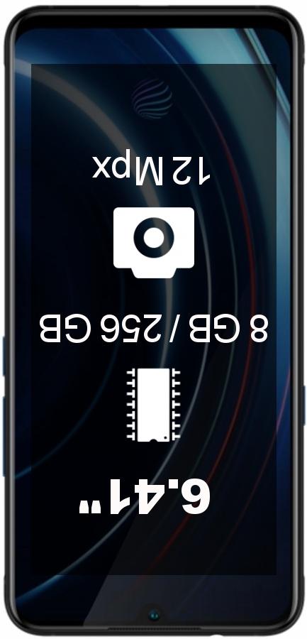 Vivo iQOO 8GB 256GB smartphone
