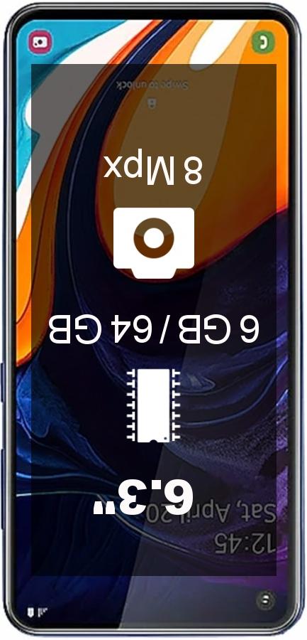 Samsung Galaxy A60 64GB GLOBAL SM-A606F/DS smartphone
