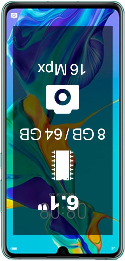 Huawei P30 8GB 64GB AL00 smartphone