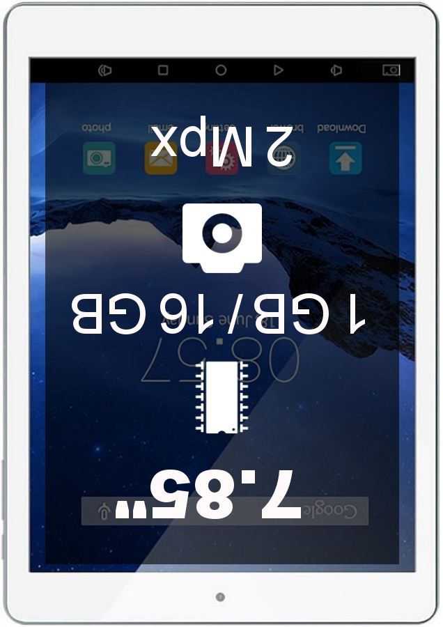 Cube iPlay 8 16GB tablet