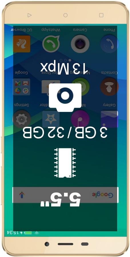 Gionee P7 Max   Antutu benchmark score