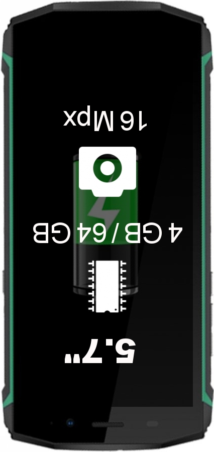 Blackview BV9500 4GB 64GB smartphone
