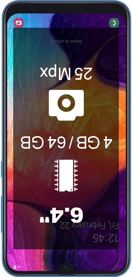 Samsung Galaxy A50 4GB 64GB A505FZ IN smartphone
