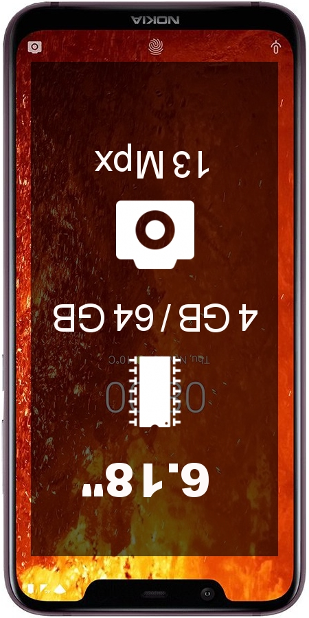Nokia 8.1 TA-1121 smartphone